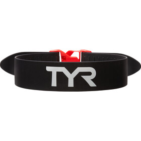 TYR Training Pull Strap, black/red